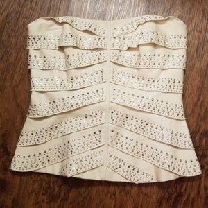 Bustier corset top